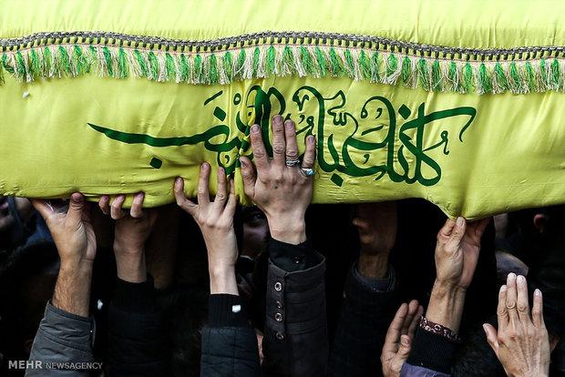 تشییع شهدای مدافع حرم در مشهد
