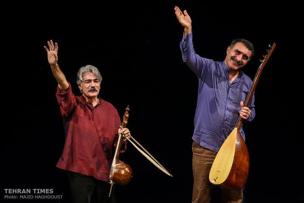 Kayhan Kalhor, Erdal Erzincan perform in Tehran