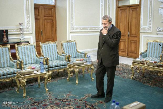 دیدار رییس کمیته بین المللی صلیب سرخ جهانی با رئیس مجلس