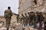 فیلم/پیشروی ارتش سوریه در «وادی بردی» در حومه دمشق