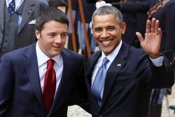 اوباما و رنزی