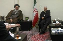 دیدار رئیس سازمان تعزیرات حکومتی کشور با امامجمعه کرج