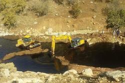 کراپشده - شکستگی لوله نفت مارون اصفهان