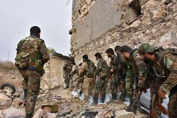 فیلم/پیشروی های ارتش سوریه در دیرالزور