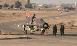 الطيران الصّهيوني يقصف مطار المزة
