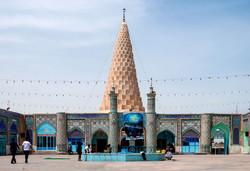 Mausoleum of Daniel at Iranian plateau edge