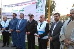 طرح همیار مهربان ترافیک در شیراز آغاز شد