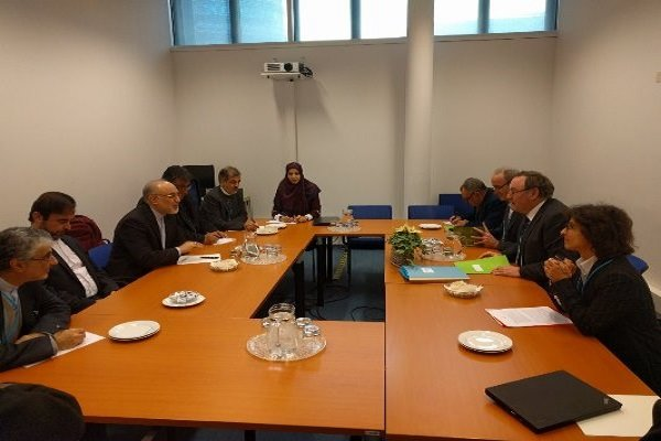 Salehi, French counterpart discuss bilateral ties in Vienna