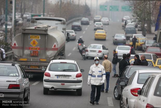 هوای تهران «آلوده» است