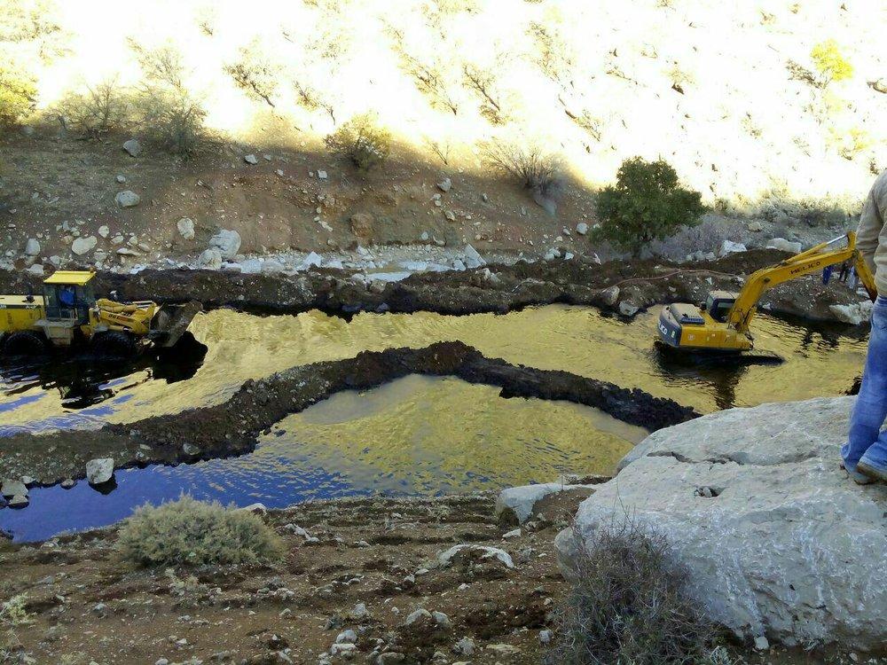 تکرار فاجعه درخط لوله نفت مارون/ آلودگی نفتی به آب کارون۴ رسید