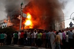One police officer killed, two injured in Cairo church explosion