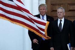 دونالد ترامپ و ژنرال جیمز ماتیس