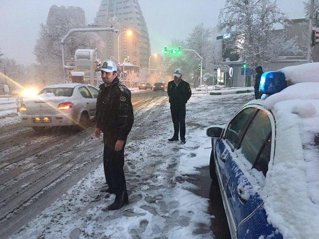 طرح زمستانی پلیس راهور در کشور آغاز شد