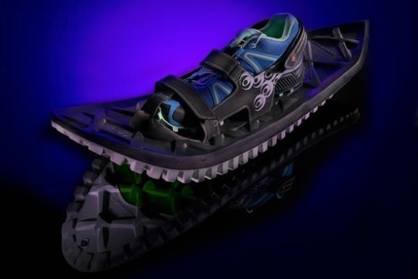 با این کفش می توانید در برف بدوید