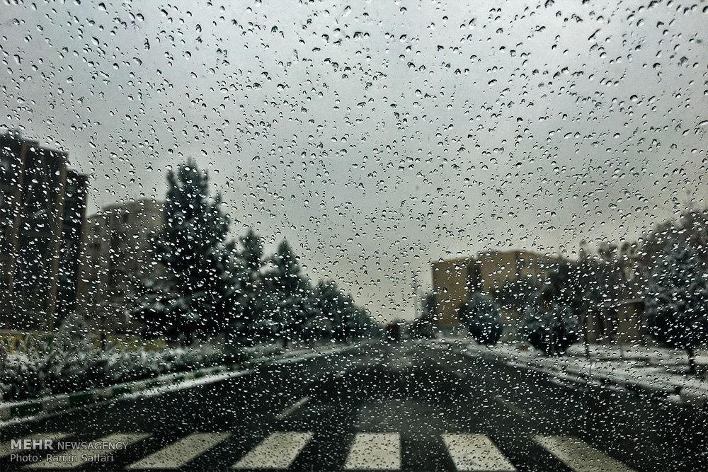 میزان بارش های استان خراسان