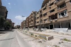 اعلام آتش بس در حومه دمشق- سوریه