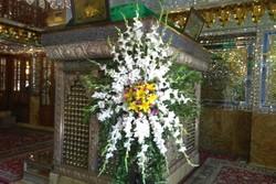 گلباران مرقد شهید آیت الله دستغیب توسط وزیر راه و شهرسازی