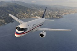 Iranian airlines to consider SSJ100 purchase