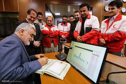 بازدید رئیس کمیسیون امنیت ملی از سازمان امداد و نجات