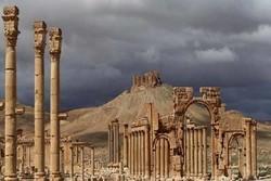 درگیری ارتش سوریه با تروریستهایی که قصد ورود به تدمر را داشتند