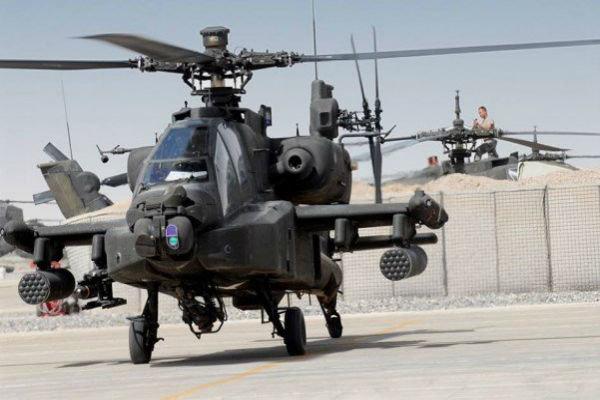 بھارت کو امریکہ کے جنگی ہیلی کاپٹروں کی پہلی کھیپ مل گئی
