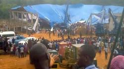 مقتل العشرات بانهيار سقف كنيسة في نيجيريا