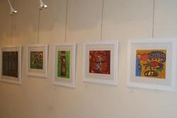 نمایشگاه نقاشی در فرخ شهر برپا شد