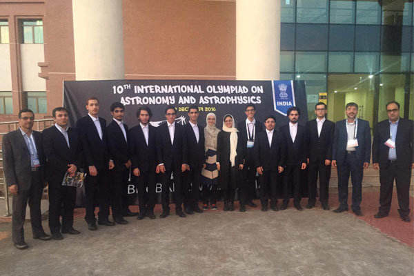 Iran lands 3rd in IOAA 2016
