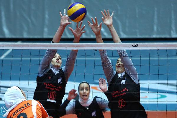 راهیابی ۲ تیم مازندران در لیگ دسته اول والیبال بانوان