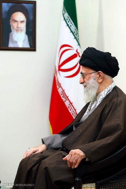 İnkılap Rehberi, Irak Milli Şii İttifak Lideri'ni kabul etti