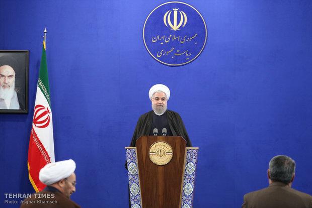 Iranian Sunni clerics meet President Hassan Rouhani