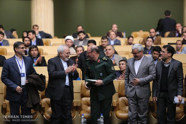 Iranian Defense Minister Hossein Dehqan, Mohammad Javad Zarif
