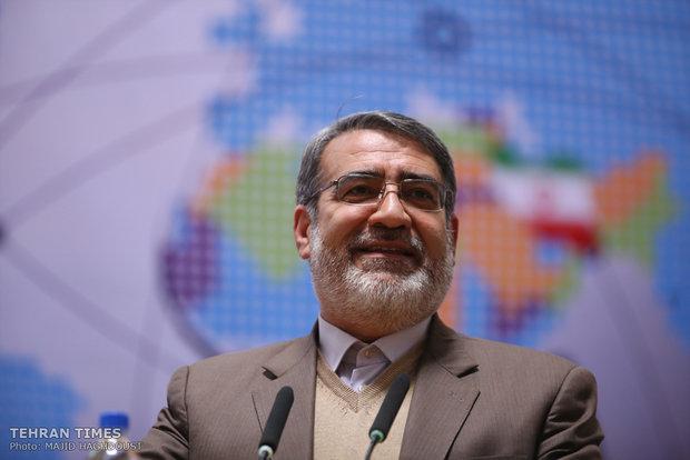 Iranian Minister of Interior Abdolreza Rahmani Fazli