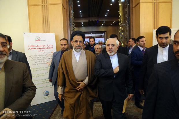 Iranian Foreign Minister Mohammad Javad Zarif , Iranian Intelligence Minister Seyed Mahmoud Alavi