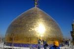رونمایی از اثر مرمت شده معماری ایرانی و اسلامی در حرم مطهر علوی