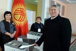 موافقت مردم قرقیزستان با اصلاحات قانون اساسی