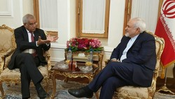 Egyptian diplomat in Tehran meets Zarif