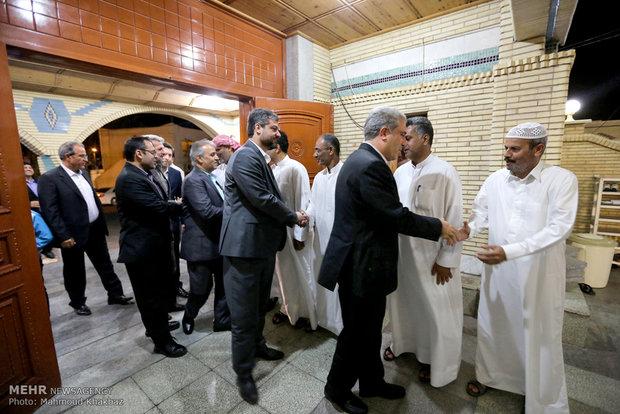احتفال بدء أسبوع الوحدة الاسلامية في جزيرة كيش