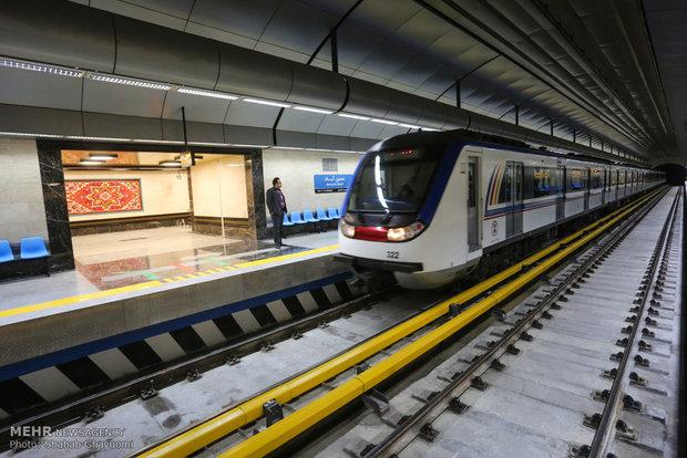 ۲۲ کیلومتر از خط ۷ متروی تهران به بهرهبرداری رسید