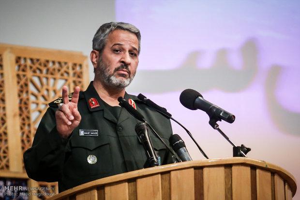سردار غیبپرور: گاهی به بهانه انتقاد منافع ملی نشانه گرفته میشود