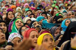 جشن شیعیان و اهل سنت برای میلاد پیامبر در سرینگر، کشمیر