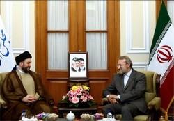 لاريجاني يؤكد على استمرار الدعم الإيراني للعراق في كافة الأصعدة