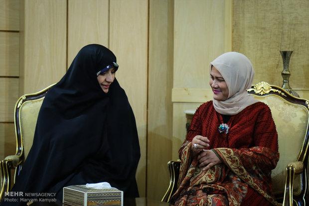 وصول رئيس جمهورية اندونيسيا الى طهران