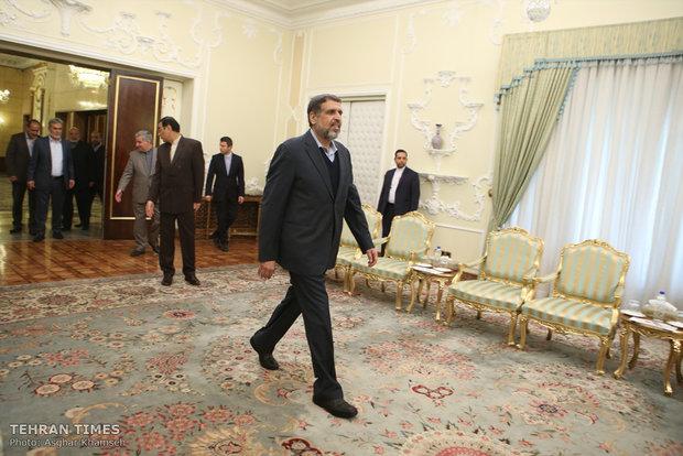 Ramadan Abdullah meet President Hassan Rouhani