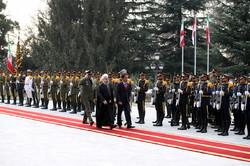 استقبال رسمی روحانی از رییس جمهور اندونزی