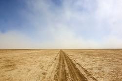 افزایش ریزگردها در کرمان/ گرد و غبار در جازموریان موج می زند