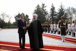 مراسم استقبال رسمی از رییس جمهور اندونزی