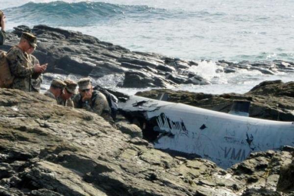 هواپیماهای «اوسپری» آمریکا در ژاپن زمین گیر شدند