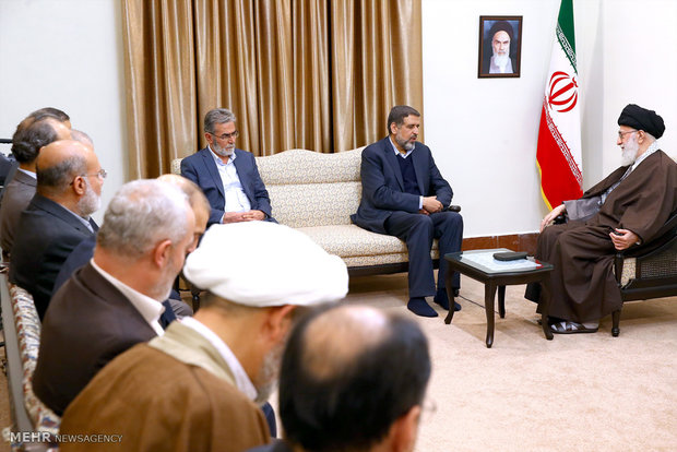 Leader receives head of Islamic Jihad movt.