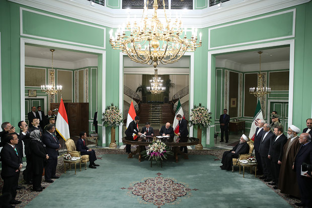 Iran, Indonesia sign 4 cooperation documents